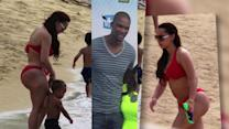 Miami Heat Star Chris Bosh's Wife Flaunts Her Red-Hot Bikini Body