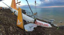 Passenger plane skids off runway in Turkey's Trabzon Airport