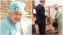 'You can't cheat them?' Queen baffled by self-service checkouts at supermarket