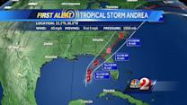 Tropical storm could bring severe weather