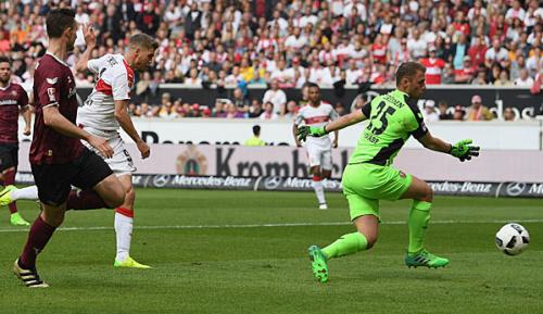 2. Liga: Nach 0:3! Terodde sichert VfB Punkt nach Kutschke-Hattrick