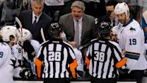 Grading NHL officials in Round 1