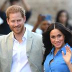 This Video of Prince Harry Fixing Meghan Markle's Ponytail Will Warm Your Heart