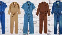 Shopping: 8 modèles pour adopter la combinaison en jean