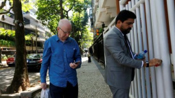 Former IOC executive Hickey leaves prison, must stay in Brazil