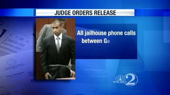 Judge orders Zimmerman's statements to be released