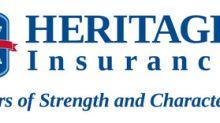Heritage Announces First Quarter Dividend