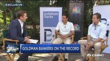 Goldman Sachs' co-heads of investment banking discuss M&A...