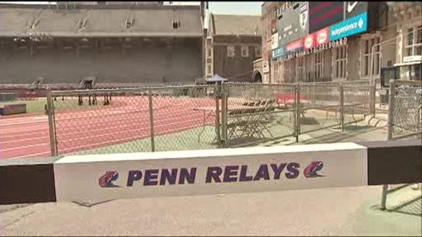Penn Relays begin with heightened security