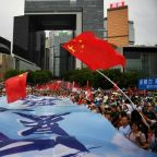 Chinese state media pump up the jam to slam Hong Kong protests