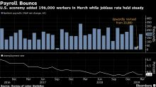 U.S. Payrolls Top Estimates With 196,000 Rise as Wages Cool