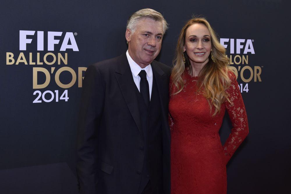 Real-Bayern: La femme d'Ancelotti en remet une couche sur l'arbitrage