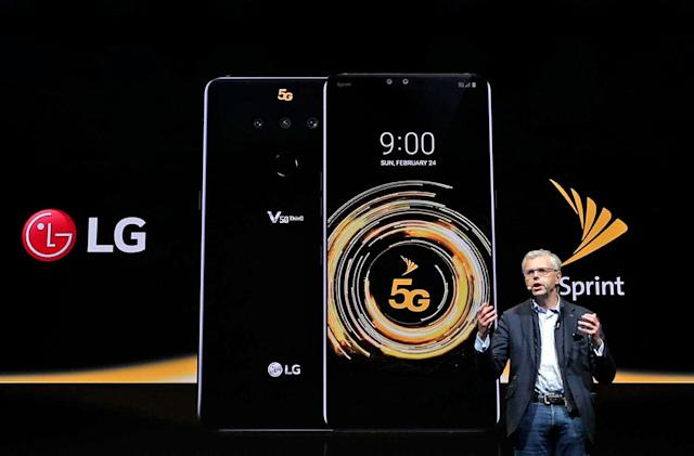 Sprint turns on 5G service in four cities