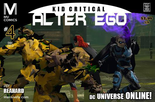 Alter Ego: Issue #4 - Kid Critical in the Scarecrow's Lair