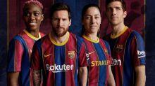 """Barcelona """"Madureira"""" e versão preta: clube apresenta camisas para 2020/21"""