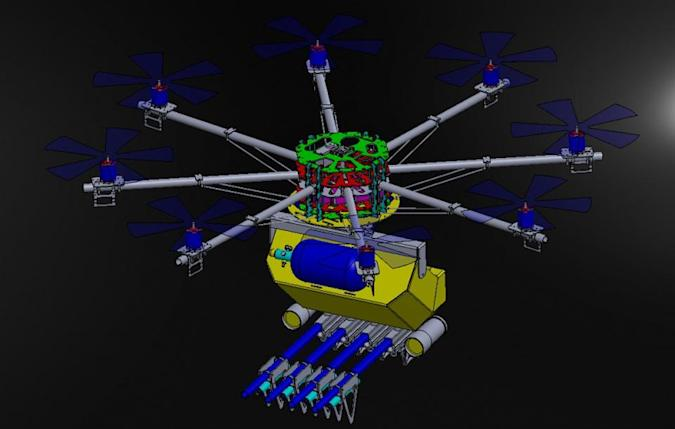 Crowd-control drones reveal the technology's dark side