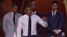 Twitter reacts to Russell Westbrook's emotional MVP speech