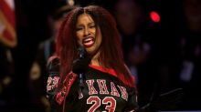 Chaka Khan stuns fans with unusual US national anthem performance at the NBA All-Stars Game