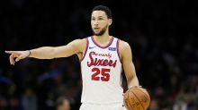 Ben Simmons double-double helps 76ers stay perfect at home
