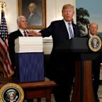 Trump Signs Omnibus Spending Package To Fund Government Through September
