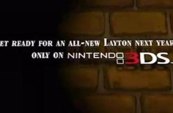 Professor Layton 3DS to arrive in Europe next year