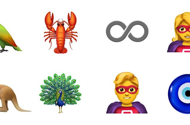 Apple's new emojis will include a superhero and more hair options