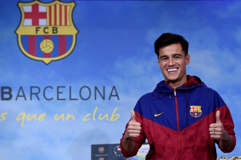 d28a97e76f992 Coutinho realiza sonho ao vestir camisa do Barcelona