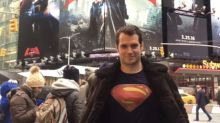 Henry Cavill Hit Time Square In A Superman T-Shirt And No-One Recognised Him
