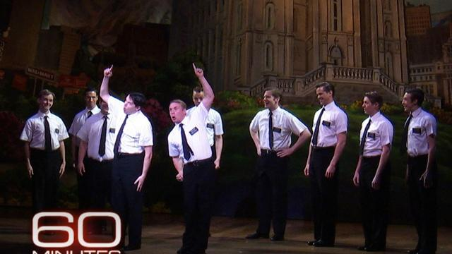 Why Mormon characters for Broadway?