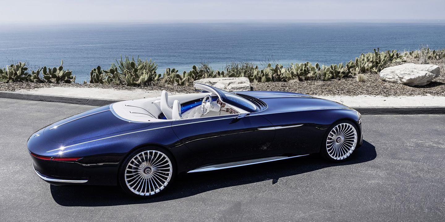 <p>If you thought the Vision 6 coupe couldn't get any better, you were probably shocked to see the Cabriolet version. It looks like a yacht on wheels, with a stunning interior and a massive rear overhang. </p>