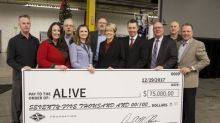 Spartan Motors Continues its Commitment to Regional Community Health Park with $75,000 Donation