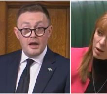 Angela Rayner is accused of calling Tory MP 'scum' after he claims Labour are exploiting Covid-19 crisis