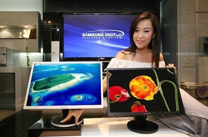 Samsung's CX223BW 22-inch LCD widescreen with HDCP