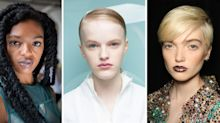 From Marble Pouts To Metallic Pink- Outrageous Lip Art Is Everywhere At NYFW