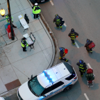 Police officer and medical staff among four dead in Chicago hospital shooting