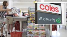Coles, Woolworths forced to change popular promotion amid coronavirus