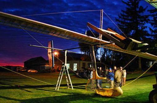 Snowbird ornithopter sets record for human-powered flight (video)