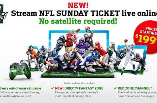 'NFL Sunday Ticket without satellite' sounds too good to be true, and for many it is