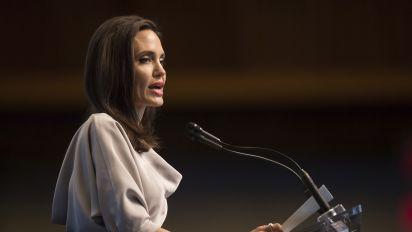 Bewegende und starke Rede von Angelina Jolie zum Thema sexueller Missbrauch