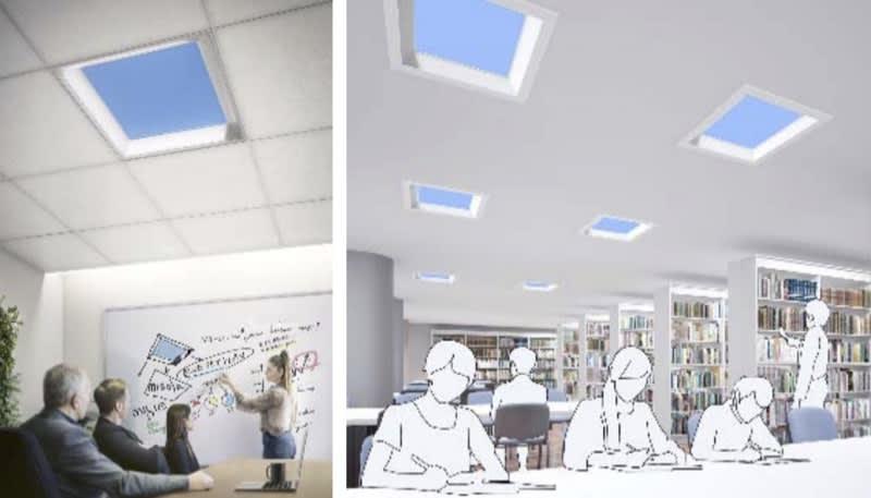 三菱電機、青空照明を68万円で発売。空が青い仕組みを再現 - Engadget 日本版