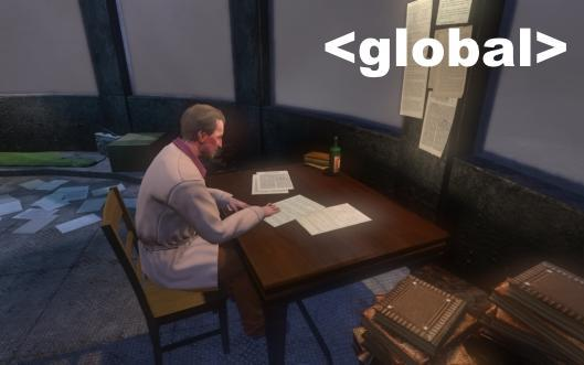 Global Chat: Why we blog