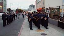 San Francisco firefighters honor the fallen on 9/11