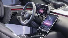 Mercedes S-Klasse mit 3D-Cockpit und neuem Infotainment