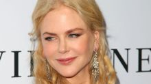 Nicole Kidman is ageless in pink and gray Dior