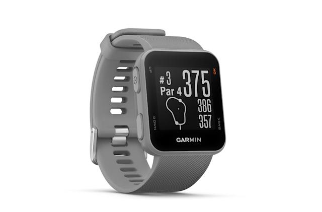 Garmin's Approach S10 GPS golf watch is simple and cheap