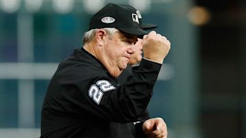 Conspiracy theorist umpire should eject himself