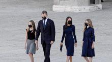 Las imágenes de la reaparición de los Reyes junto a sus hijas tras el escándalo de don Juan Carlos