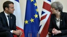 Macron snubs May on post-Brexit trade deal talks