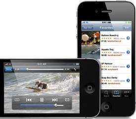 80% of mobile videos watched happen on iOS devices