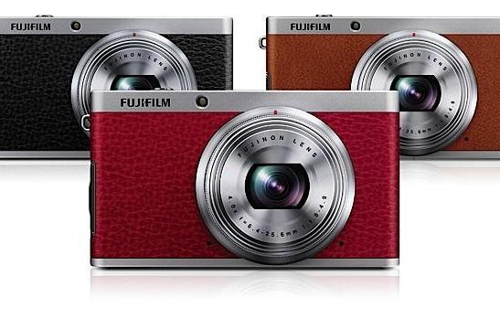 Fujifilm's XF1 digicam is a $500 point-and-shoot with manual controls and a faux leather exterior